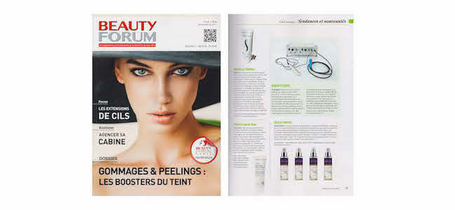 Beauty Forum – Article sur le Natural Drain, Visage & Corps