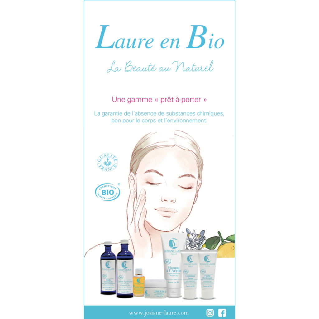 Laure en Bio Catalogue Produit Josiane Laure Paris